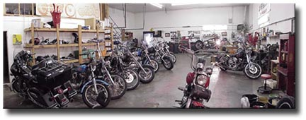 Full-Service Shop at Big Pete's Cycle